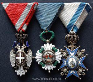 Korolevstvo-YUgoslaviya.-Ordena-Belogo-orla-YUgoslavskoj-korony-Svyatogo-Savvy