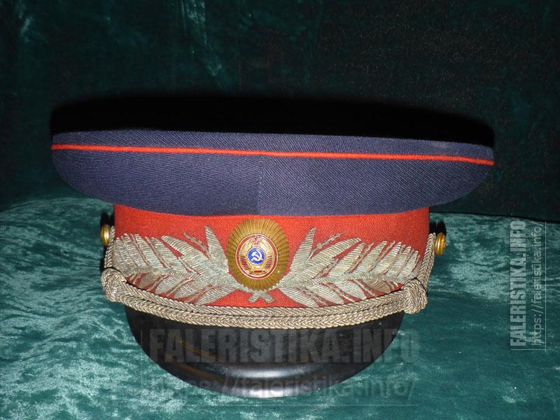 Парадная фуражка комиссара Милиции обр. 1947