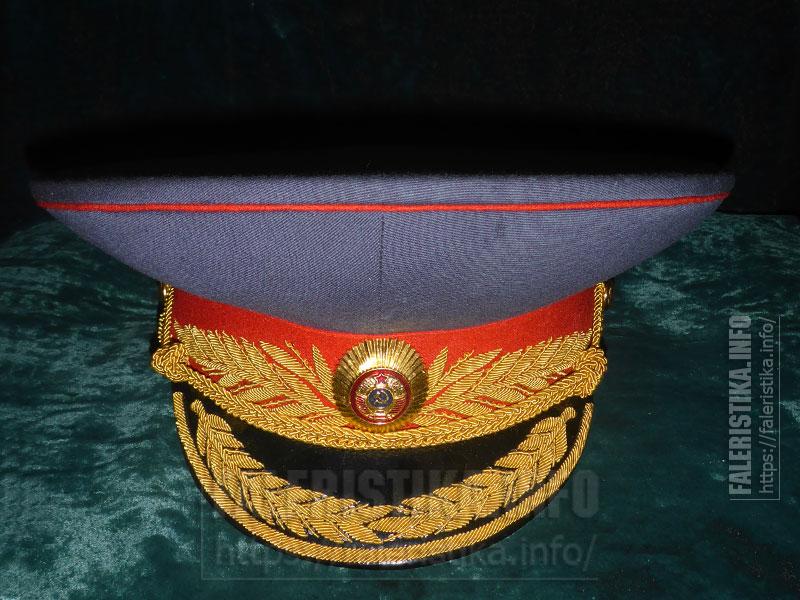 Фуражка парадная генерала Милиции
