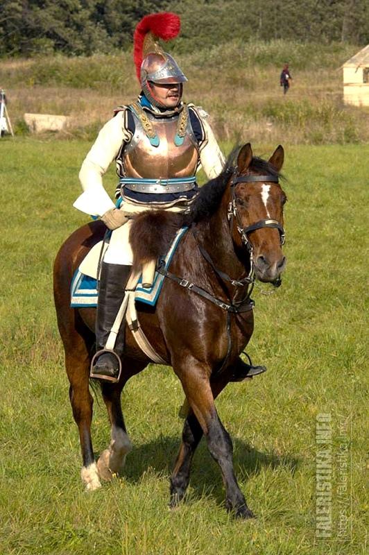 Михаил Шмаевич на боевом коне. Фото Андрея Лобанова