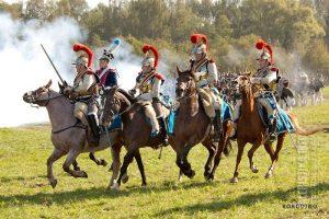 1-ый карабинерный полк, железные люди императора. Бородино, 2012. Фото Андрея Лобанова.