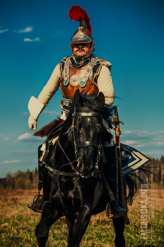 Офицер карабинер (Михаил Шмаевич). Автор фото Янина Белова