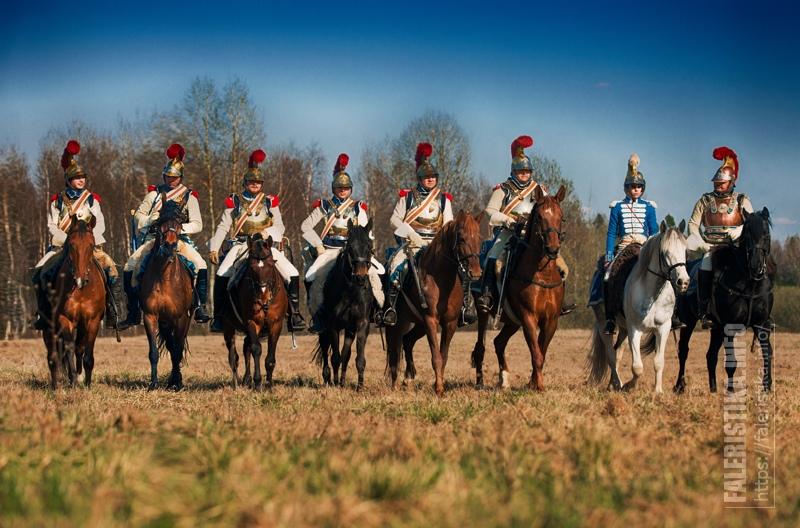 1-ый полк карабинер. Автор фото Янина Белова