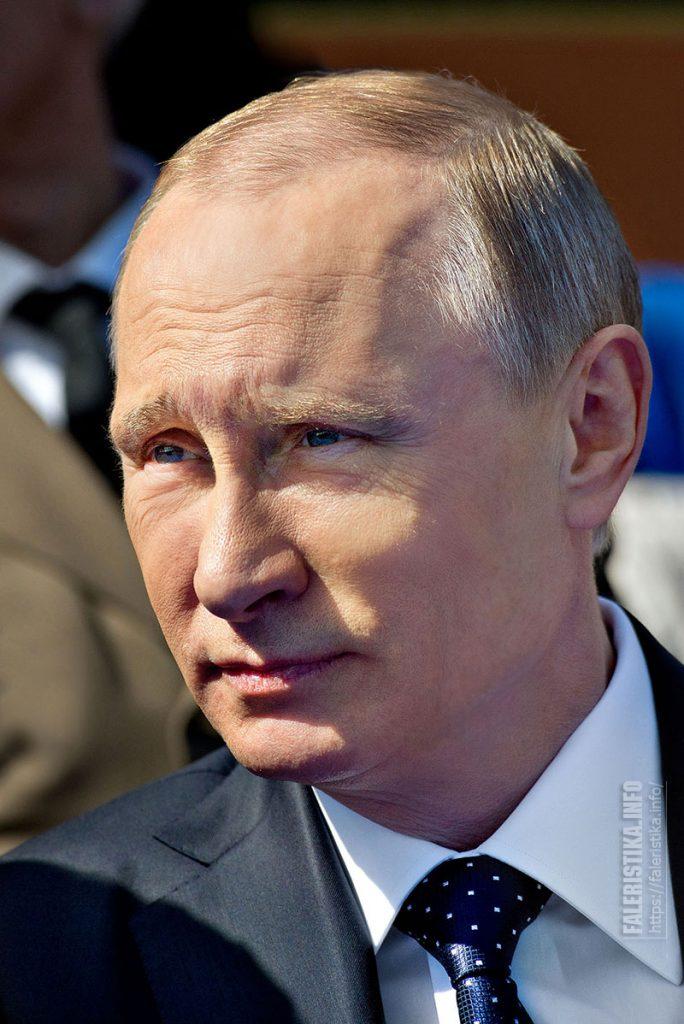 Президент Российской Федерации Владимир Владимирович Путин. Парад Победы на Красной площади, май 2015 г. Фото Андрея Лобанова