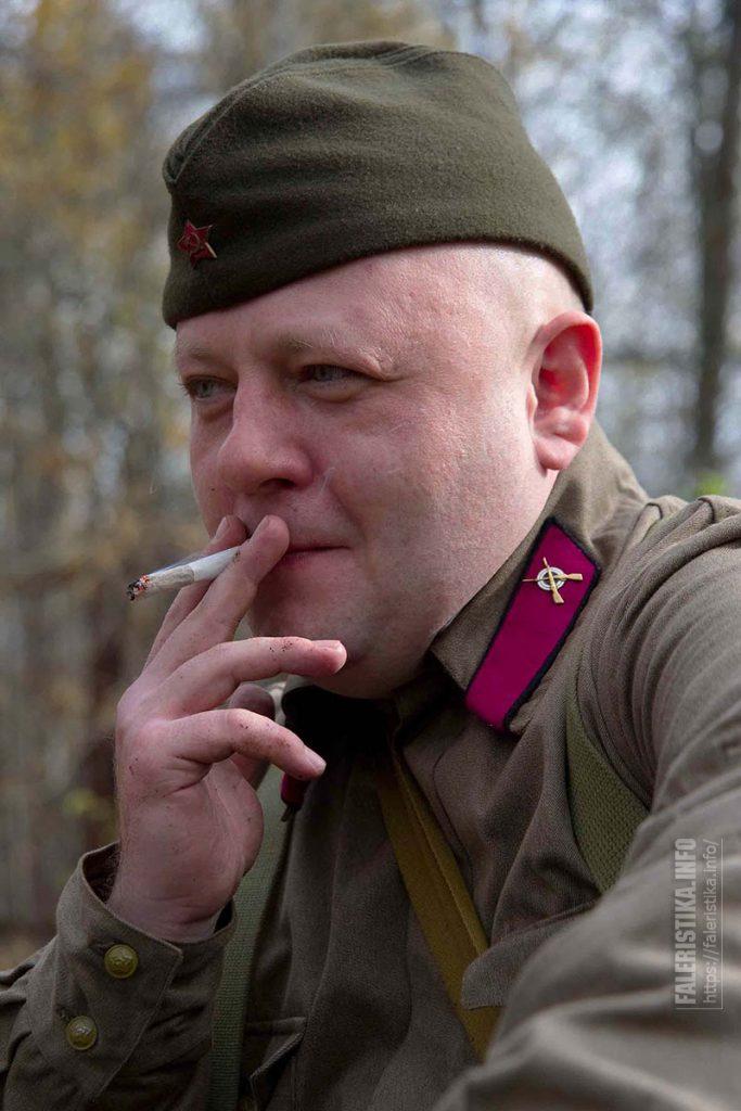 Реконструктор Великой Отечественной войны. Фото Андрея Лобанова
