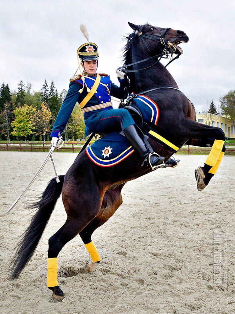 Всадник Президентского полка. Фото Андрея Лобанова