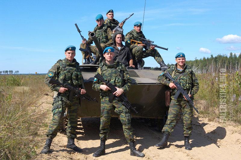 Русские десантники. Фото Андрея Лобанова