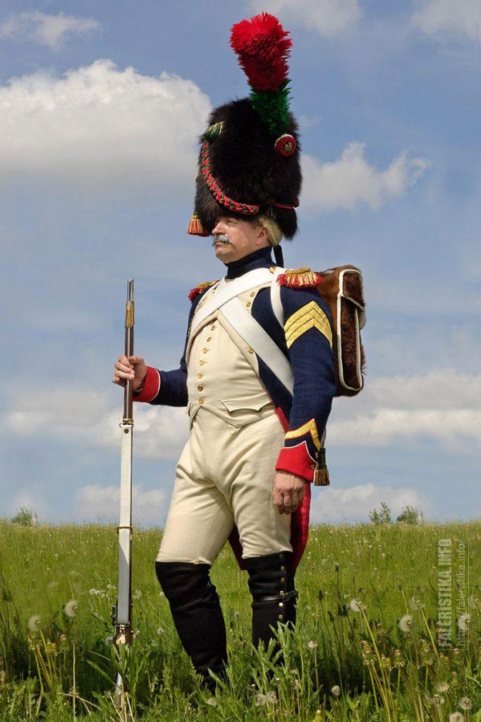 Реконструктор событий 1812 года. Фото Андрея Лобанова