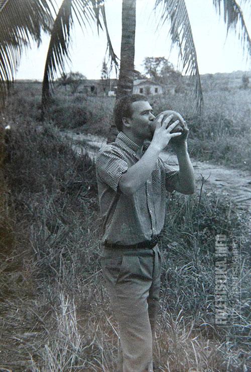 Андрей Лобанов. Куба, 1983 год