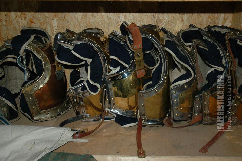 Реконструированные кирасы из собрания Михаила Шмаевича