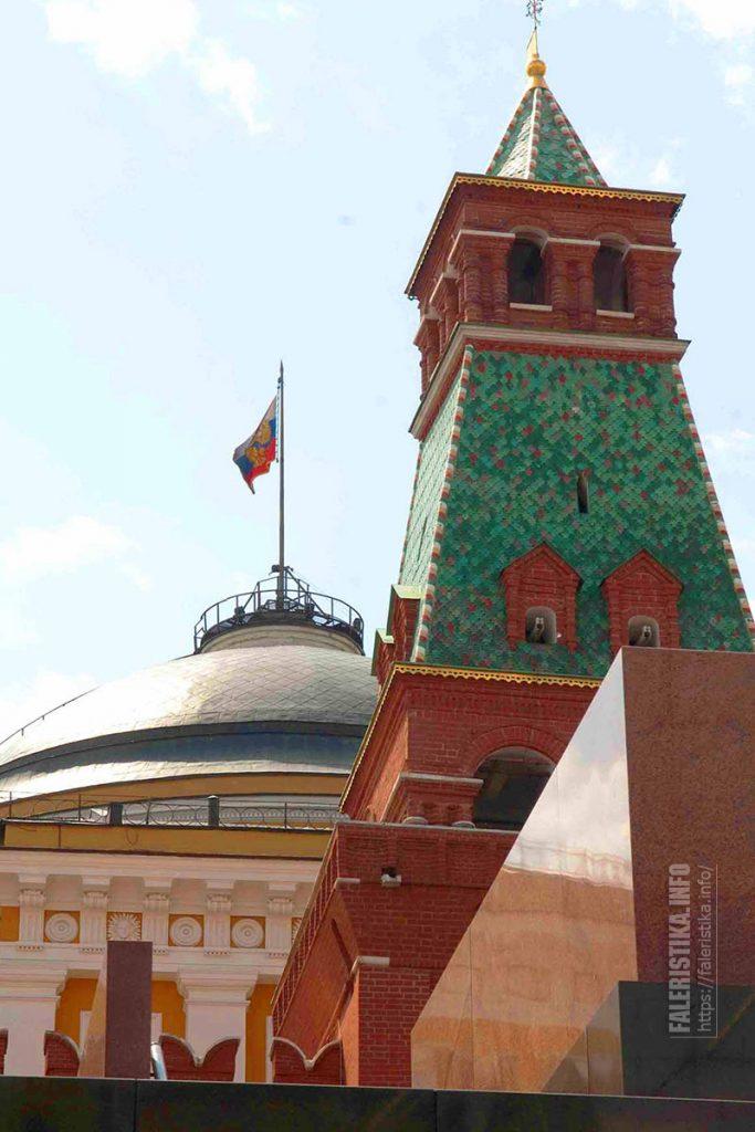 Мавзолей В.И. Ленина, Сенатская башня