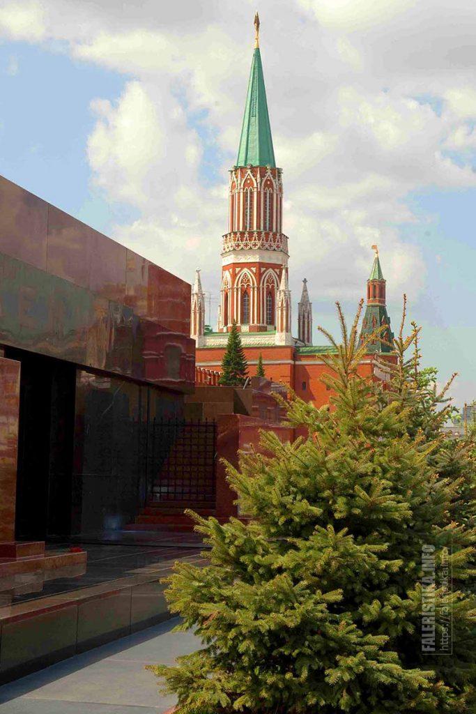 Мавзолей В.И. Ленина, Никольская башня