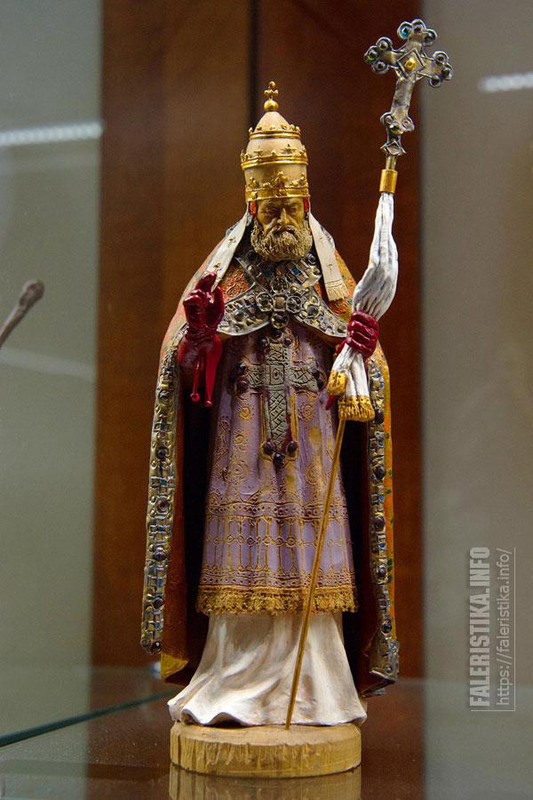 Папа Григорий XIII. Последняя работа Ростислава Олюнина. 1972