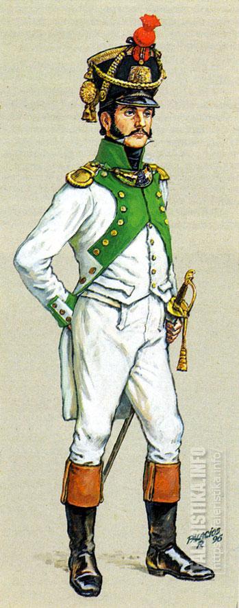 Испанский гренадерский кирасир. 1812. Иллюстрация Роберто Паласиос-Фернандеса.