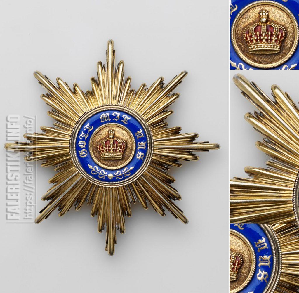 Звезда ордена заслуг перед Прусской короной. Орден учрежден в 1901 г. Звезда серебряная с позолотой. Коллекция А.Л. Хазина