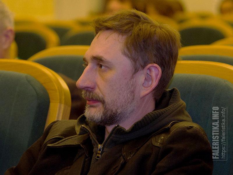 Директор Института реставрации (ГосНИИР) Дмитрий Антонов