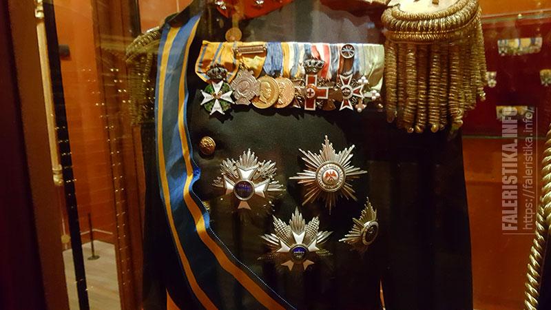 Мундир с наградами. Nationaal Militair Museum — Национальный Военный Музей, Нидерланды