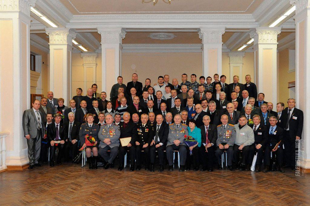 Комсомольцы-оперативники разных лет на 55-летии БКД КАИ, Казань, 10 декабря 2010 г