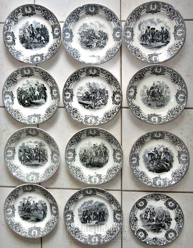 Полный комплект тарелок от «Братьев БОШ»
