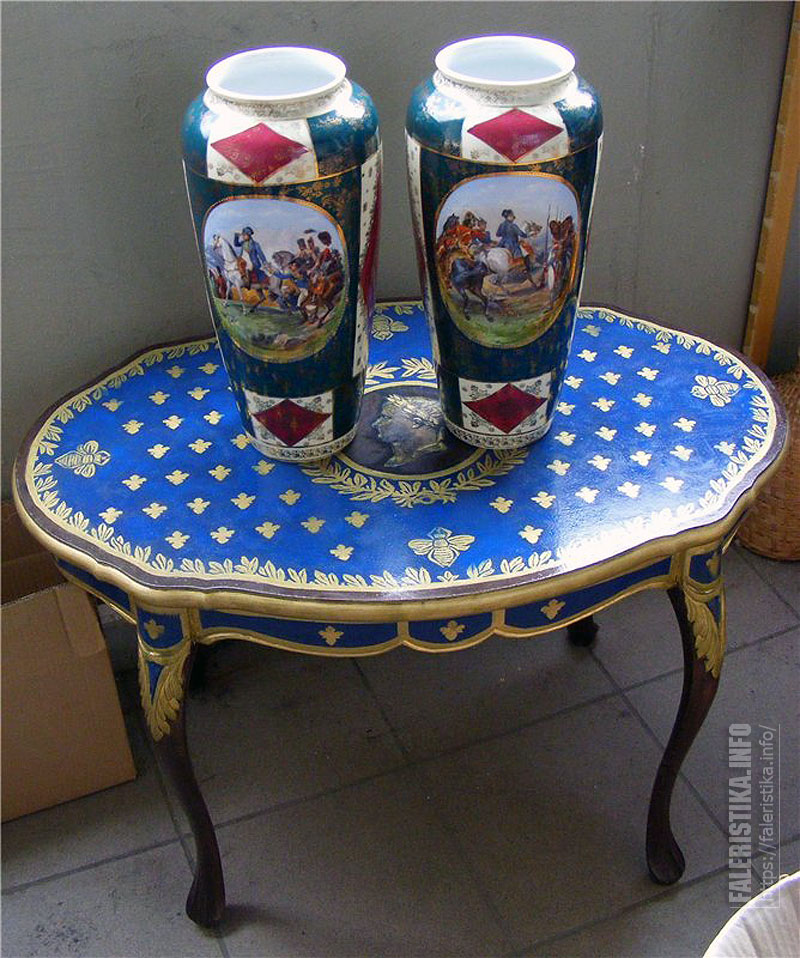 Австрийский фарфор с наполеоникой