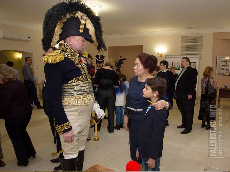 Открытие выставки детских произведений «Недаром помнит вся Россия про день Бородина!», посвященной 205-летию сражения, открылась в Мосгордуме