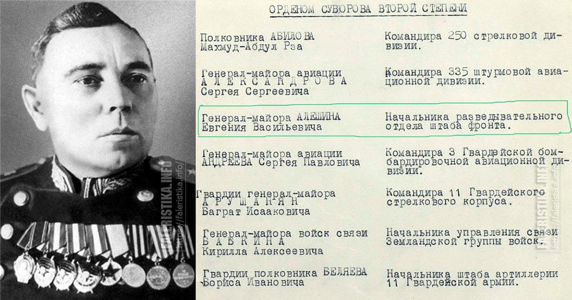 Алёшин Евгений Васильевич