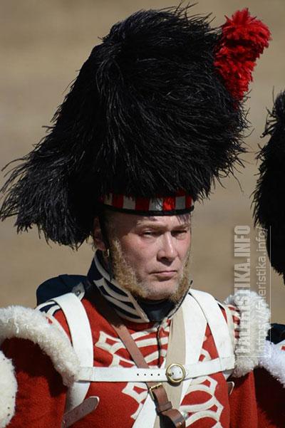 Андрей Каращук (шотландец). 42-й Королевский Хайленд полк, 1854. Реконструкция Альминского сражения 2015 г.