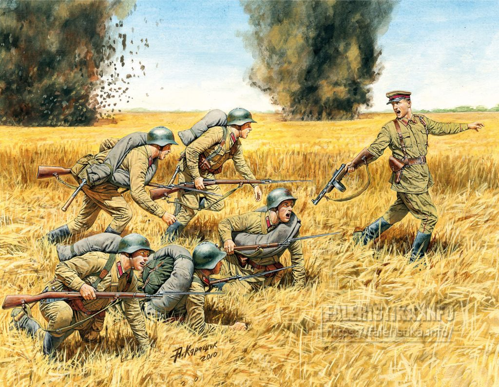Андрей Каращук. Пехота РККА, лето 1941 года. Master Box Ltd.