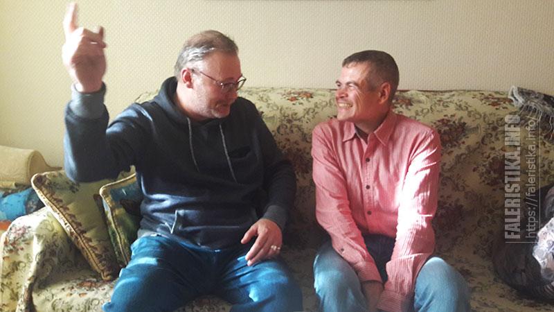 Андрей Каращук и Алексей Сидельников