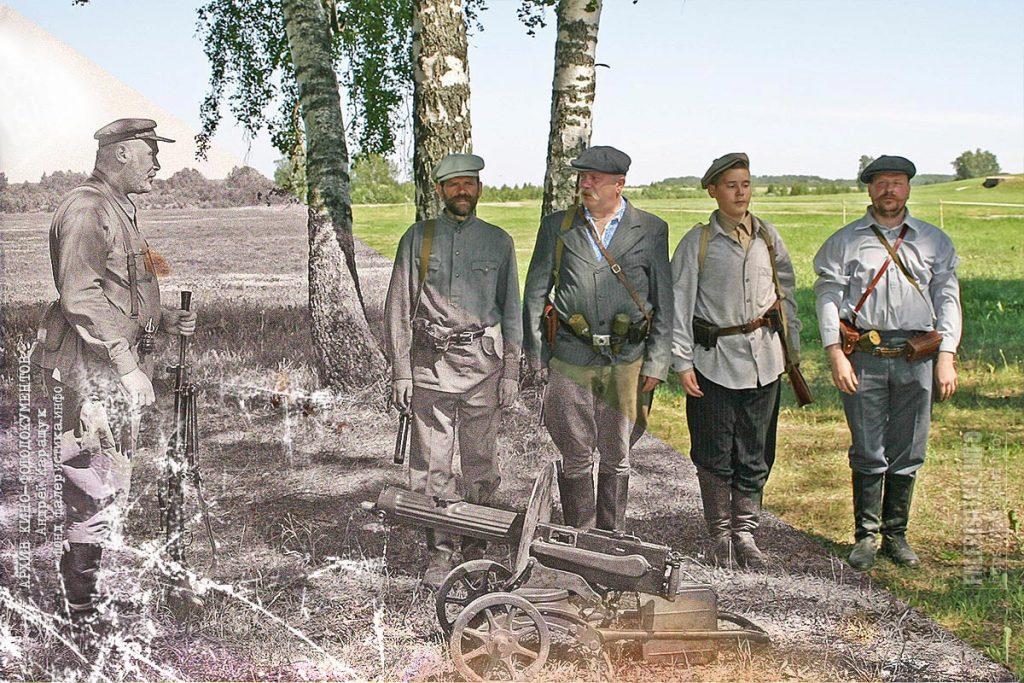 Андрей Каращук и советские партизаны