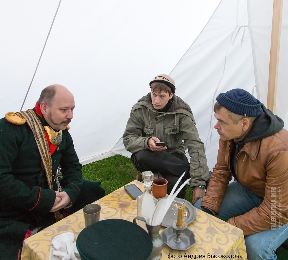 Илья Ульянов, Михаил Тренихин, Алексей Сидельников (фото А. Высоколова)