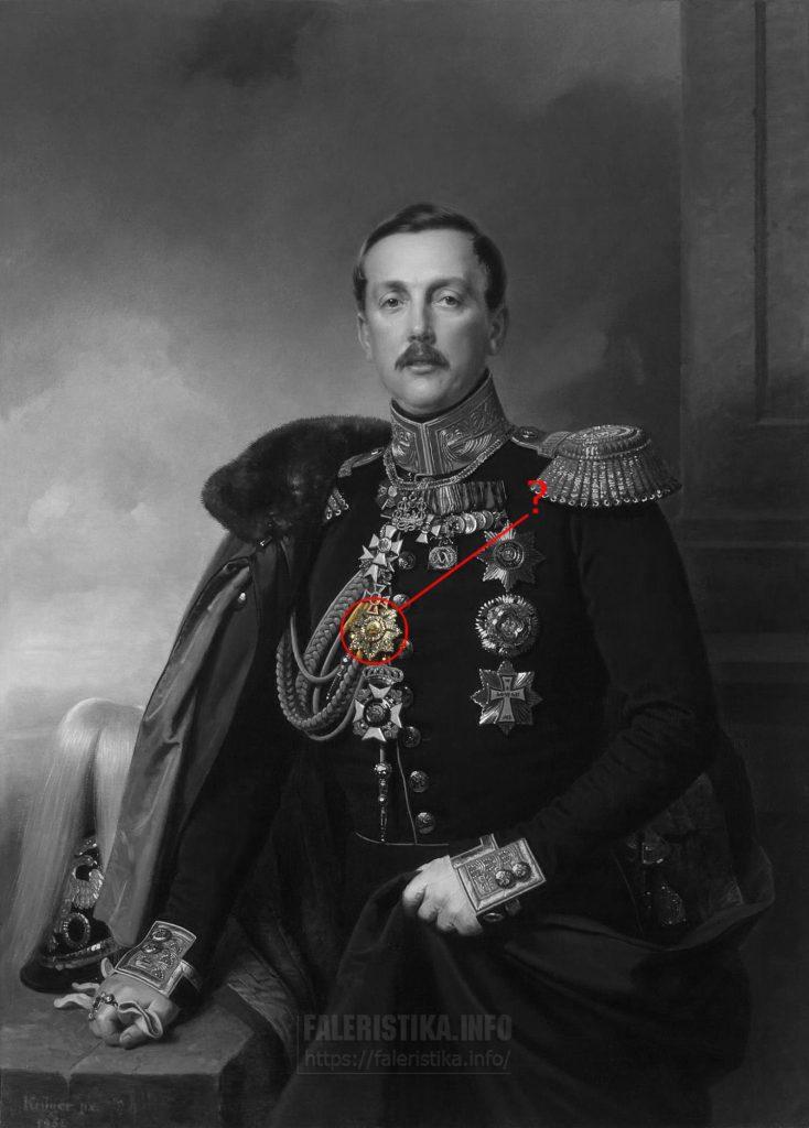 Портрет светлейшего князя Италийского Александра Аркадьевича, графа Суворова-Рымникского