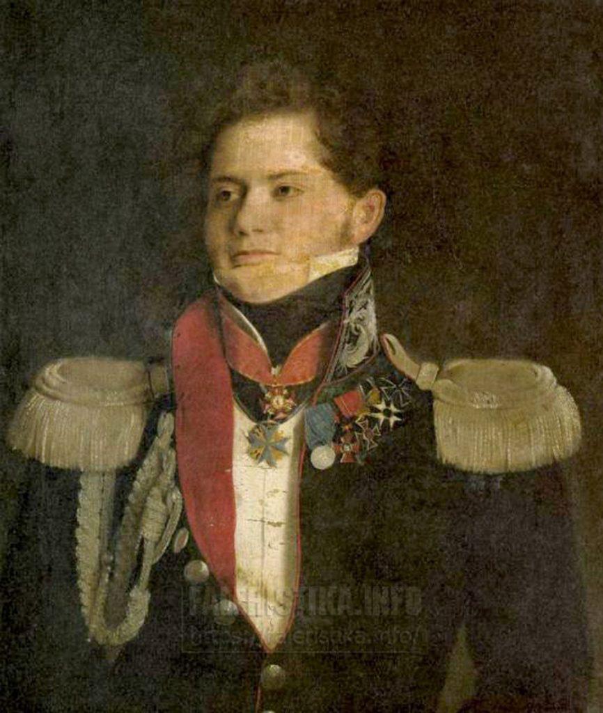 Тулов Федор Андреевич (1792? — 1855) (?)  Русский музей Холст, масло. 69Х59 см (незаконченный)