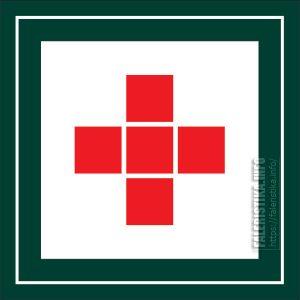 Эмблема японского Красного Креста