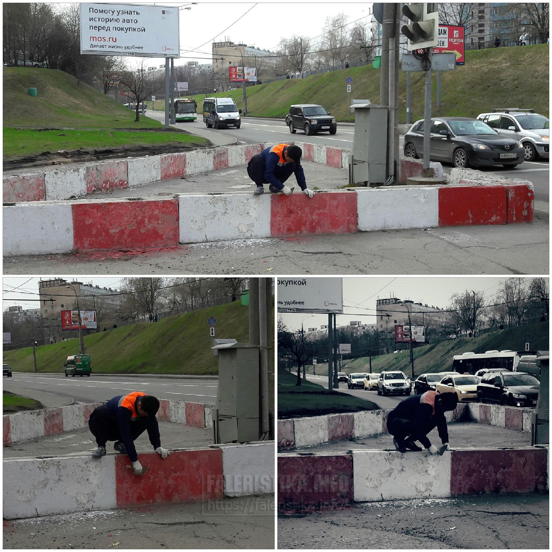 Москвич облагораживает город