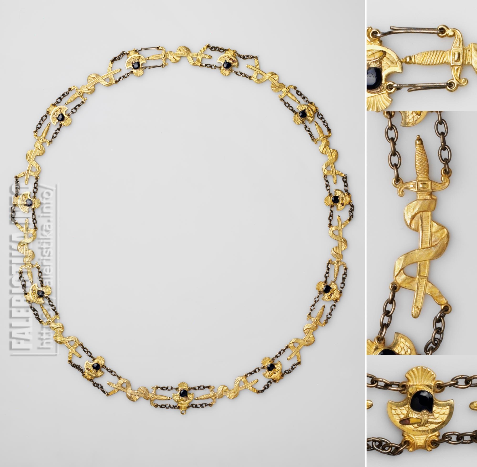 Орден Меча. Цепь. Аверс. Учрежден в 1748 г.