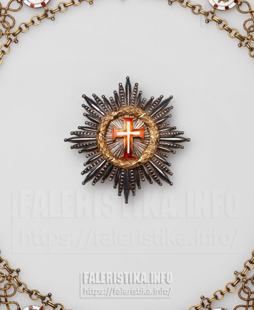 Верховный орден Христа (Ordine Supremo del Cristo). Звезда. Рим, вторая половина XIX - начало XX в.