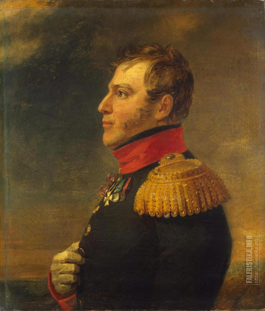 Портрет генерал-майора Густава Христиановича Шеле