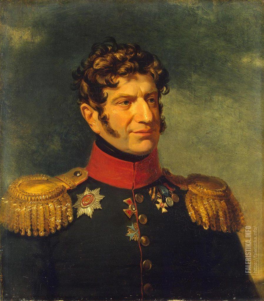 Портрет генерал-майора барона Федора Федоровича Розена