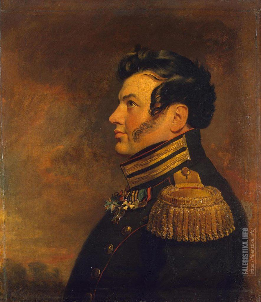 Портрет генерал-майора Максима Константиновича Крыжановского