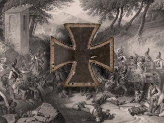 Кульмский крест на портретах Военной галереи