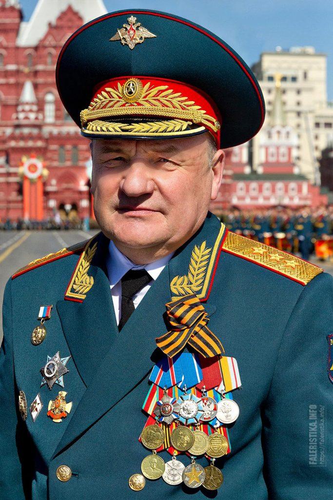 Павел Анатольевич Попов. Заместитель Министра обороны Российской Федерации, генерал армии