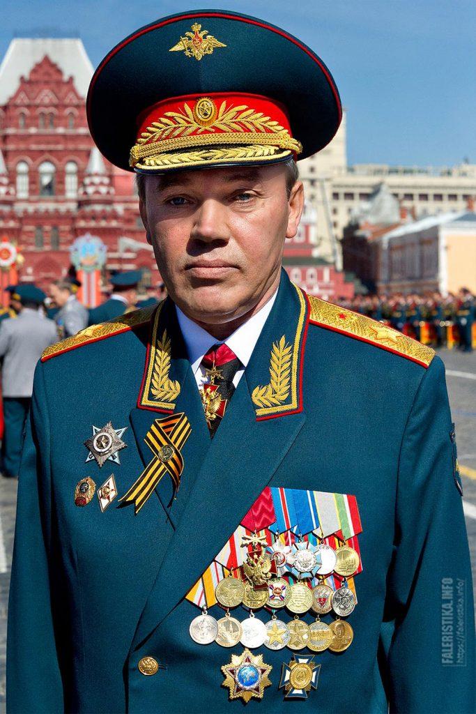 Валерий Васильевич Герасимов, генерал армии, начальник Генерального штаба Вооружённых Сил Российской Федерации, первый заместитель Министра обороны Российской Федерации
