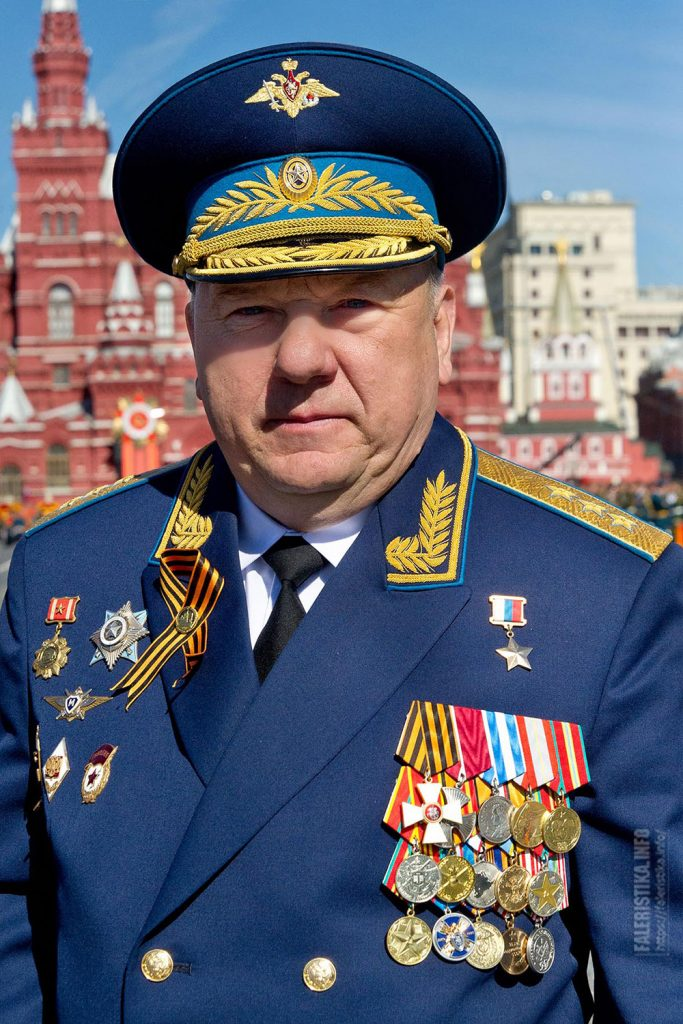 Владимир Анатольевич Шаманов, генерал-полковник, в 2009-2016 гг. - Командующий Воздушно-десантными войсками России