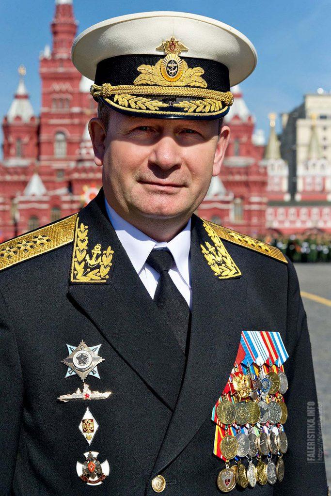 Чирков Виктор Викторович. Главнокомандующий Военно-морским флотом Российской Федерации