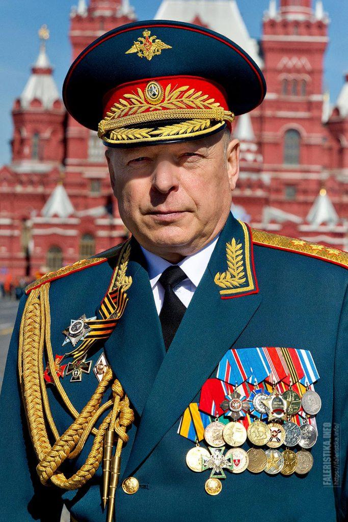 Олег Леонидович Салюков. Главнокомандующий Сухопутными войсками Российской Федерации с 2 мая 2014 года. Генерал-полковник