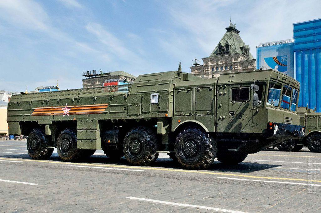 """Оперативно-тактический ракетный комплекс """"Искандер"""""""