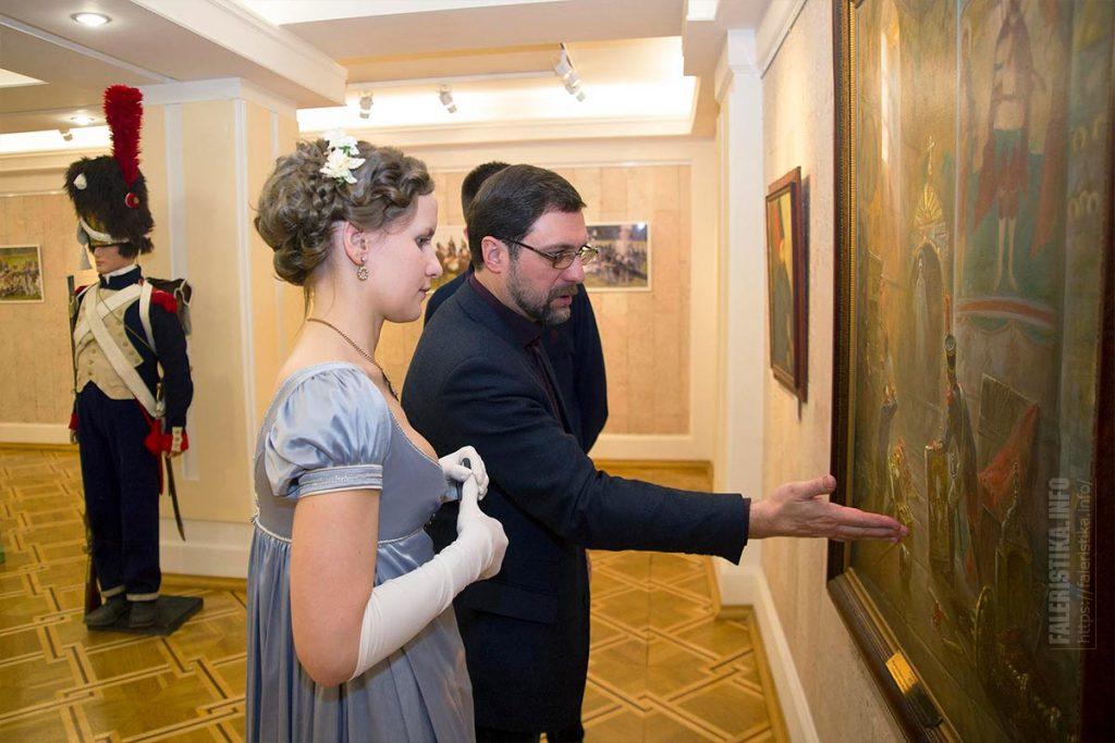 Машков Игорь, заслуженный художник России и обворожительная Евгения