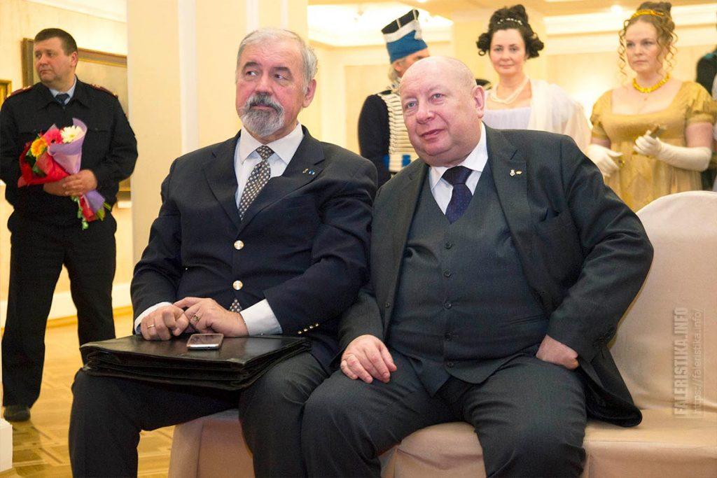 Справа Александр Юрьевич Королев-Перелешин вице-президент Российское дворянское собрание