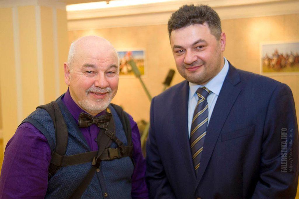Фотограф Виктор Перякин и Михаил Шмаевич